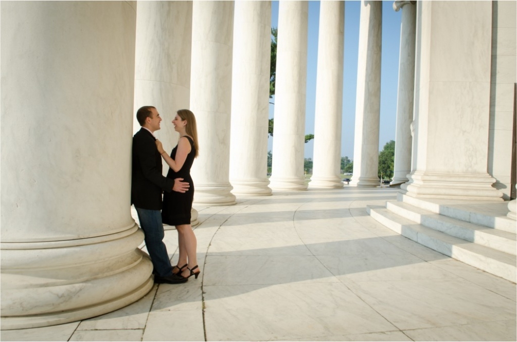 Jefferson Memorial Engagement Pilars