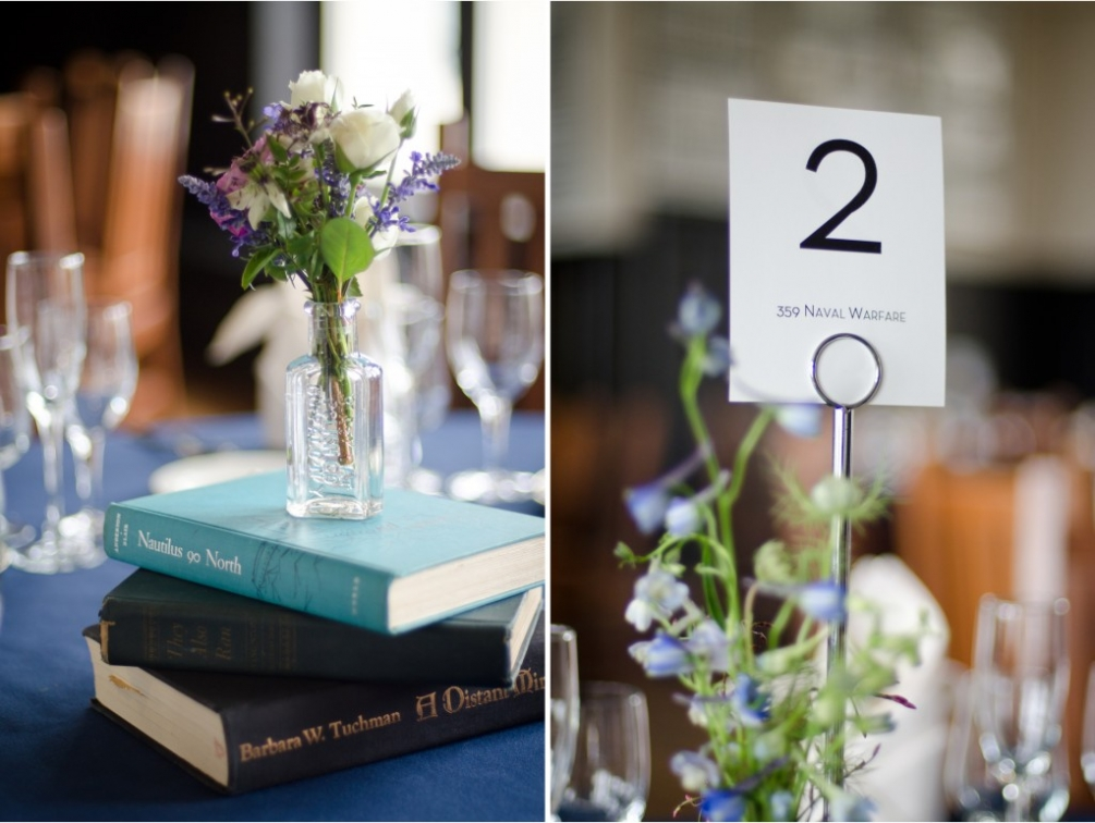St Albans School Table Decorations