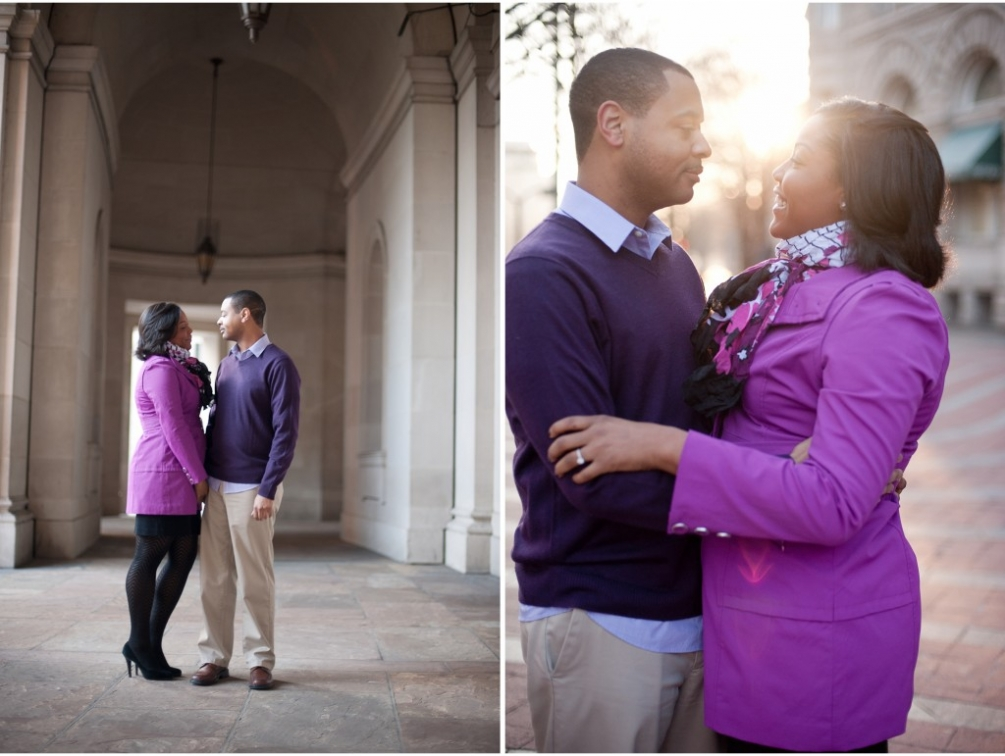 morning Washington DC Engagement