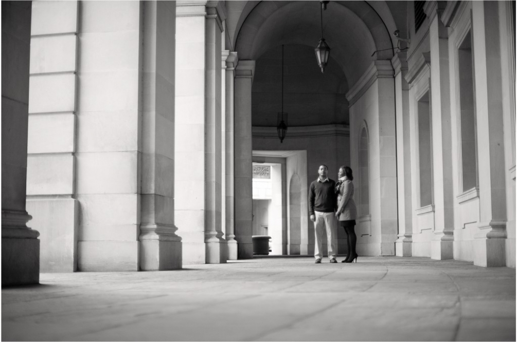 engagement downtown dc