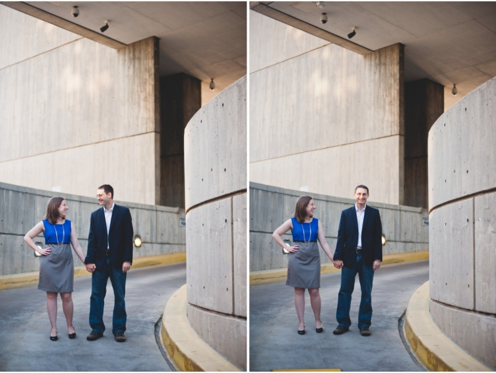 parking garage engagement dc