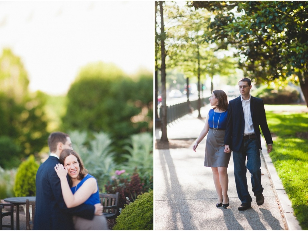 garden engagement in dc