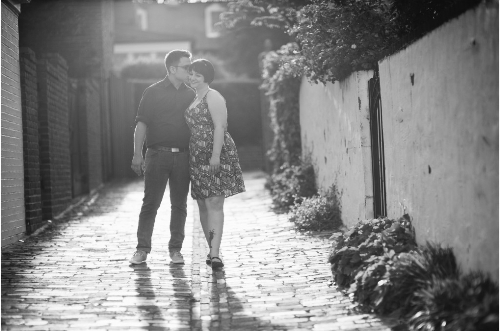 old town alexandria engagement dc