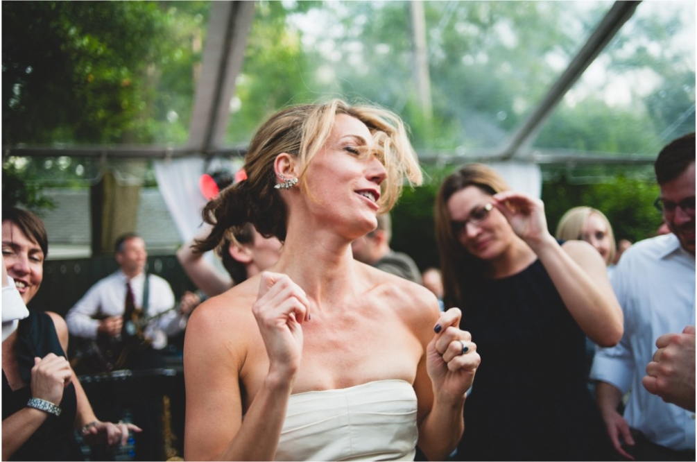 dancing backyard wedding in dc