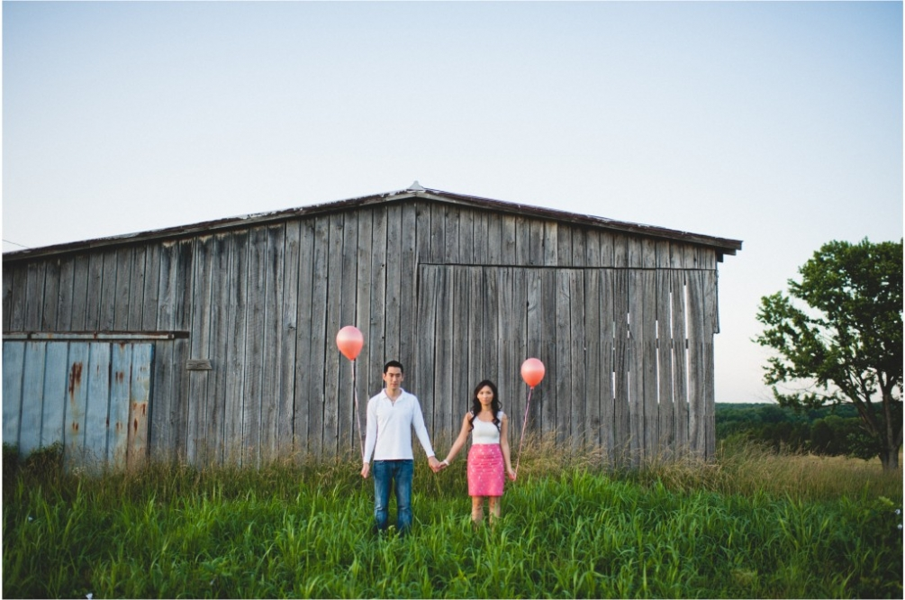 barn engagement virginia