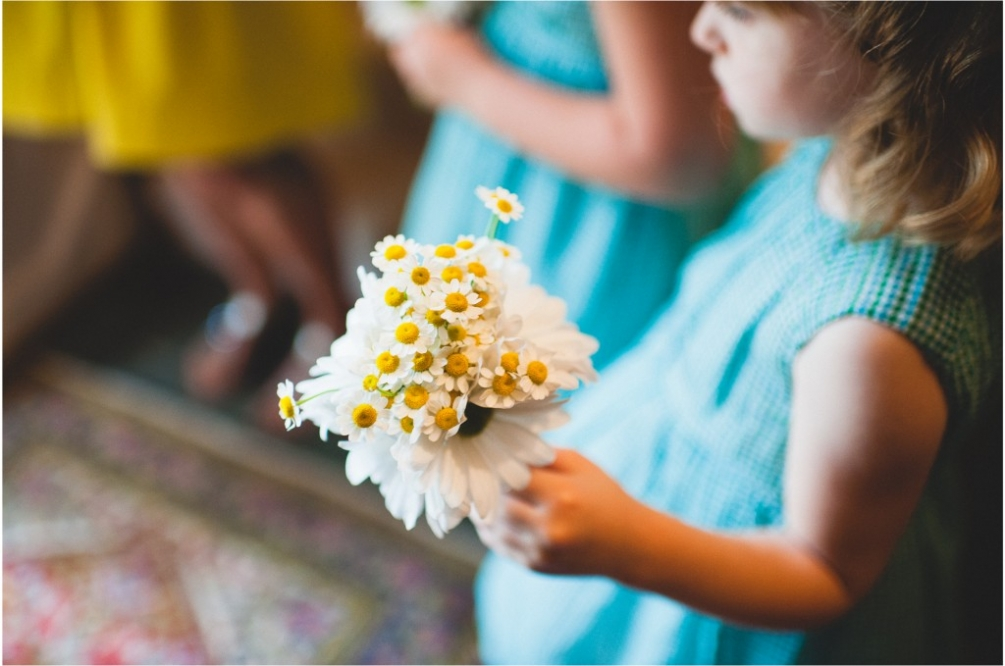 flower girl virginia wedding