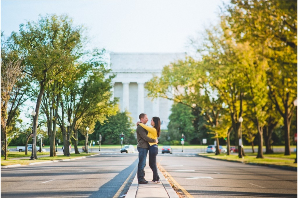 lincoln memorial engagement creative