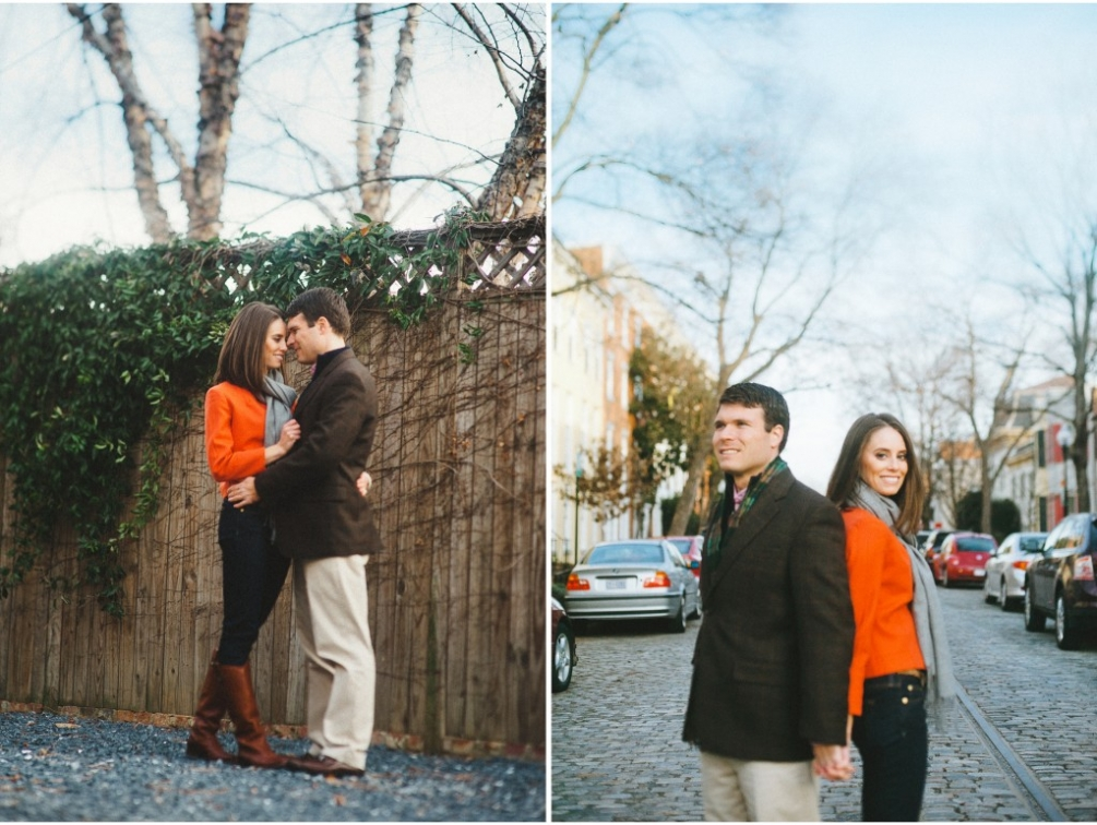 colorful engagement outfits